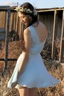 Ivory-floral-crown-alyssa-nicole-accessories-sky-blue-alyssa-nicole-dress