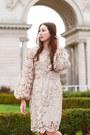 Tan-lace-alyssa-nicole-dress