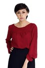 Brick-red-bishop-sleeve-alyssa-nicole-blouse