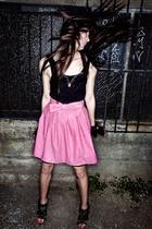 pink Alyssa Nicole skirt - black Alyssa Nicole top