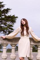 neutral Alyssa Nicole dress
