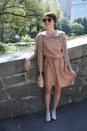 beige Alyssa Nicole dress