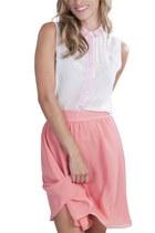 salmon Alyssa Nicole skirt