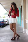 Red-zac-posen-x-target-jacket-beige-shirt-white-american-rag-skirt-blue-fo