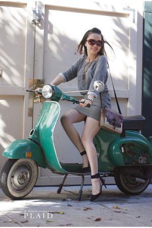 Vince Camuto bag - vera wang sunglasses - Zara heels - Urban Outfitters skirt