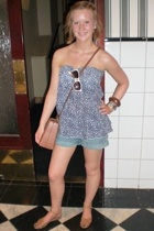 H&M top - Indiska shorts - Urban Outfitters accessories - Urban Outfitters sungl