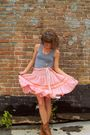Vintage-skirt-american-apparel-shirt-steve-madden-boots