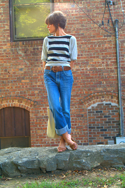 vintage shirt - vintage jordache jeans