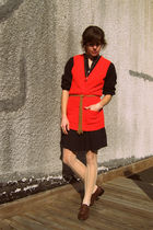 Gap dress - vintage vest