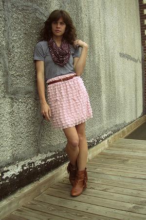 Target skirt - American Apparel t-shirt