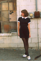 vintage dress - urban outfiitters shoes