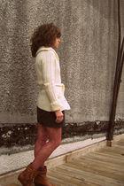 vintage sweater - H&M dress