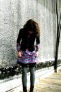 Vintage-dress-lux-blazer