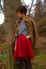 Gap-skirt-call-it-spring-boots-jacket-american-apparel-shirt
