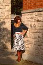 Forever-21-shirt-vintage-skirt-vintage-boots-vintage-scarf