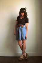American Apparel t-shirt - lux uo skirt