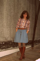 Urban Outfitters skirt - vintage blouse