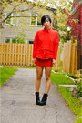 Black-spring-boots-red-h-m-sweater-red-ralph-lauren-shirt-red-smart-set-sk