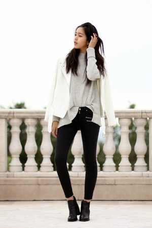 white trouve jacket