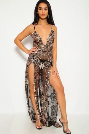 sexy sequin AmiClubWear dress