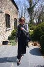 Black-alexander-mcqueen-scarf-black-new-look-dress-silver-new-look-jacket-