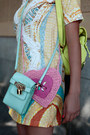 Aquamarine-now-i-style-bag-light-yellow-chicwish-dress