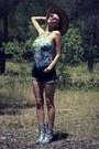Bubble-gum-asos-sunglasses-aquamarine-motel-rocks-bodysuit