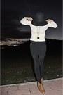 Camel-lace-up-oxfords-zara-shoes-black-american-apparel-dress-black-seeberge
