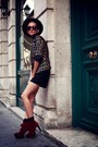 Leopard-print-lefties-blazer-cinderella-shop-online-shoes-vintage-shorts