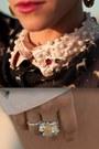 Thallo-ring-boodwah-shorts-chicwish-blouse-romwe-necklace