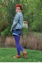 Gap jacket - Levis shorts