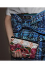 Blue-handmade-skirt