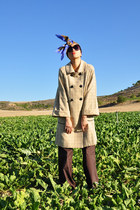 tan riverside coat