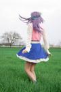 Off-white-mabel-feij-vintage-blouse-blue-american-apparel-skirt