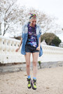 Chartreuse-asos-boots-light-blue-denim-chicwish-shirt-navy-denim-diy-shorts
