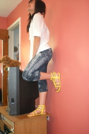 Target jeans - ny & co shirt - Wet Seal shoes