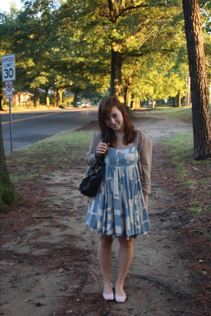 accessories - Urban Outfitters shoes - banana republic sweater - dress