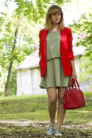 snake print Czas na buty shoes - house skirt - Bershka suit