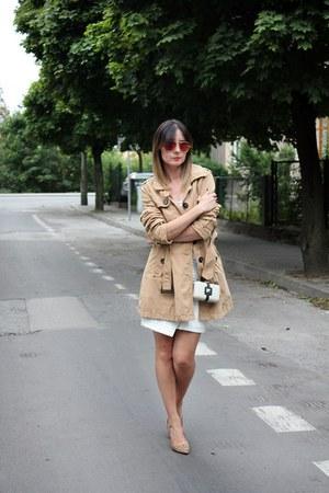 trench coat second hand coat - Mohito skirt