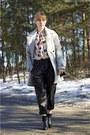 Bershka-coat-tally-weijl-bag-leather-pants-zara-pants