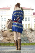 Terranova sweater - brown boots pull&bear boots