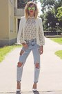 Periwinkle-pull-bear-jeans-off-white-sheinside-blazer