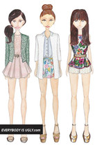 The Style Mash-Up: Three Ladylike Lace and Floral Print Outfits To Try