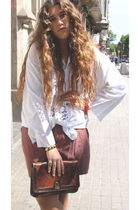 vintage shirt - vintage shorts - vintage accessories