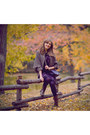Dark-brown-francesco-donni-boots-purple-free-people-dress