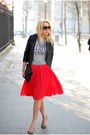 Red-asos-skirt-zara-heels