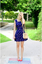 Oasis dress - Aldo bag - Zara heels