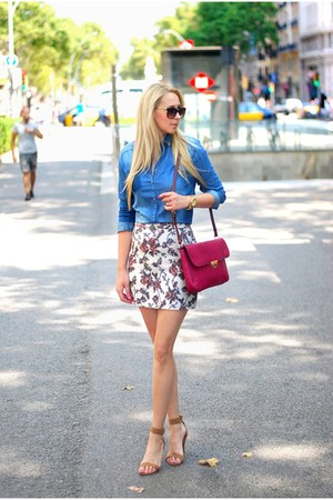 Promod skirt - Zara shirt