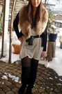 Vero-moda-dress-h-m-cardigan-pieces-belt