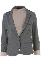 gray Topshop blazer